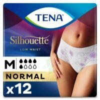 Tena Lady Silhouette Slip Absorbant Blanc Normal Médium Paquet/12 à VINCENNES