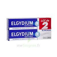 Elgydium Dentifrice Duo Blancheur Tube 2x75ml à VINCENNES