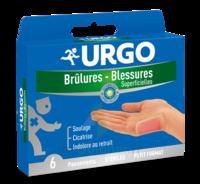 Urgo Brulures-blessures Petit Format X 6 à VINCENNES