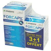 Forcapil Gélules croissance vitalité cheveux ongles B/180+60 à VINCENNES