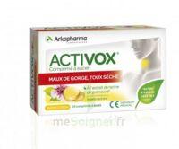 Activox Comprimés à sucer citron B/24 à VINCENNES