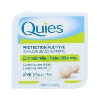 QUIES PROTECTION AUDITIVE CIRE NATURELLE 8 PAIRES à VINCENNES