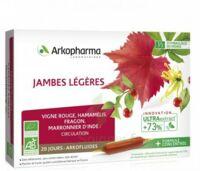 Arkofluide Bio Ultraextract Solution buvable jambes légères 20 Ampoules/10ml à VINCENNES