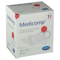 Medicomp® compresses en nontissé 7,5 x 7,5 cm - Pochette de 2 - Boîte de 25 à VINCENNES