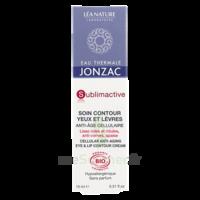 Jonzac Eau Thermale Sublimactive Crème soin contour yeux lèvres jeunesse immédiate 15ml à VINCENNES