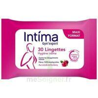 Intima Gyn'expert Lingettes Cranberry Paquet/30 à VINCENNES