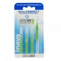 Inava Mono Compact Brossette Extra-large Vert Blister/4 à VINCENNES