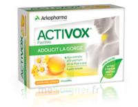 Activox sans sucre Pastilles miel citron B/24 à VINCENNES