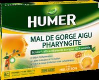 Humer Pharyngite Pastille Mal De Gorge Miel Citron B/20 à VINCENNES